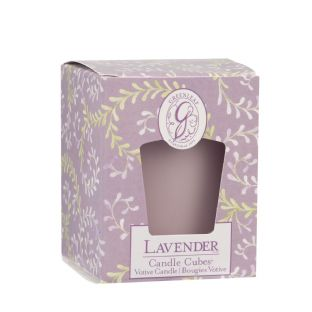 Boxed Votives Lavender